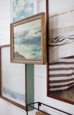 Exceptional Picture Frame Riser Project | Gallery Wall | Sea Art | Painting Amazing Ideas