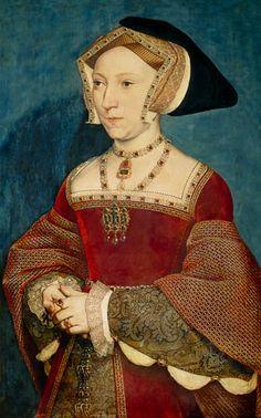 Bild: Hans Holbein d.J. - Jane Seymour, Königin von England