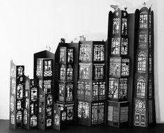 Dreamcity , 2009, Mathilde Nivet, découpage e montagem de papéis