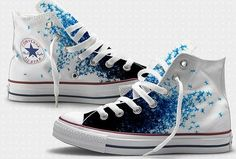 Converse Art Collabs by Vó Maria, via Flickr. Painted converse= my new obsession