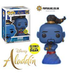 Disney Pop, Disney Live, Disney Marvel, Pop Marvel, Funko Pop Dolls, Funko Pop Figures, Pop Vinyl Figures, Aladdin Live, Genie Aladdin