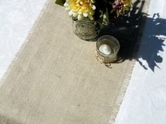 Burlap table runner #burlap get fabric for burlap table runner from burlapfabric.com
