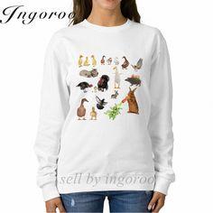 Babaseal Animals Print Letter Hoodies Space Floral Sweatshirt Streetwear Women Matching Couple Hoodies Twice Kpop Anime Hoodie #Affiliate