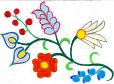 Ojibwe Paintings | Floral Designs and the Woodland Tribes