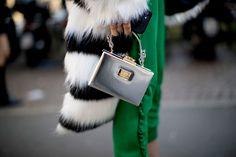 Best Street Style Details Of Milan Fashion Week AW17