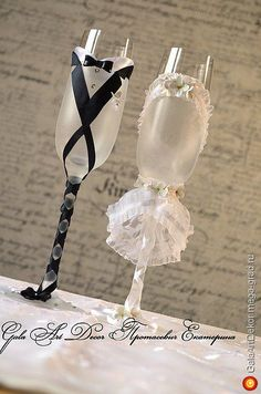 """Свадебные бокалы """"Вместе навсегда"""" - стеклянная посуда, авторский свадебный подарок. МегаГрад - город мастеров"""