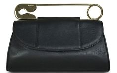 I'm in love!  Safety pin clutch by Bodhi