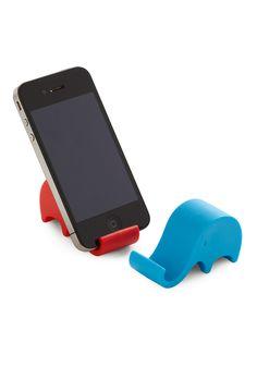 porta celular en forma de elefante