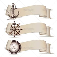 Set of Banners with Marine Icons. Set of banners with marine icons. Vector illustration Created: GraphicsFilesIncluded: JPGImage Layered: No MinimumAdobeCSVersion: CS Tags: Seaport Anchor Background, Background Banner, Nautical Clipart, Navy Birthday, Bullet Art, Etiquette Vintage, Homemade Stickers, Girls Camp, Beach Art
