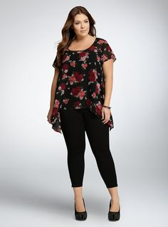 Mom Outfits, Dressy Outfits, Chic Outfits, Fashion Outfits, Curvy Girl Fashion, Work Fashion, Plus Size Fashion, Look Plus Size, Plus Size Tops