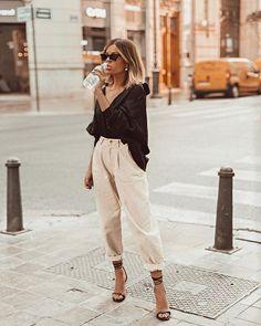 Fashion 2019 New Moda Style - fashion Look Fashion, Fashion Outfits, Womens Fashion, Fashion Trends, Fashion Clothes, City Fashion, Fashion Tips, Office Fashion, Casual Outfits