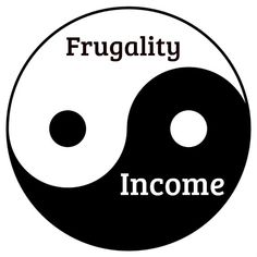 The Yin and Yang of Frugality and Income from The Non-Consumer Advocate.