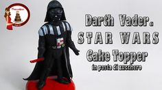 "Come fare Darth Vader di ""Star Wars"" in pasta di zucchero"