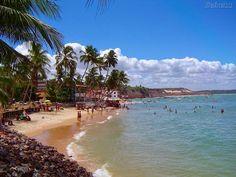 Praia da Pipa, localizada a 85 Km de Natal, RN, Brasil