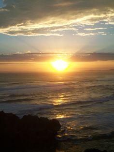 Sunset over Buffalo Bay from Brenton-on-Sea