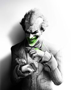 The Joker, Batman Arkham City Wallpaper available in various resolutions to suit your computer desktop, iPhone, iPad & Android™ devices, and discover more Games wallpapers. Batman Arkham City, Le Joker Batman, Batman Arkham Series, Joker Arkham, Der Joker, Joker And Harley Quinn, Joker Comic, Gotham, Joker Game