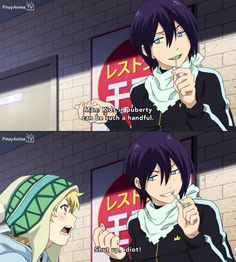 LOL This is why I love Yato and Yukine so much.