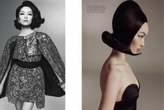 Fei Fei Sun Wows for Vogue Italias January Issue by Steven Meisel