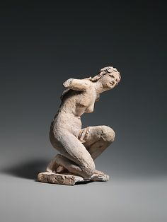 Jean-Baptiste Carpeaux (French, 1827–1875). Crouching Flora, ca. 1863. The Metropolitan Museum of Art, New York. Purchase, Assunta Sommella Peluso, Ignazio Peluso, Ada Peluso and Romano I. Peluso Gift, 2010 (2010.71)