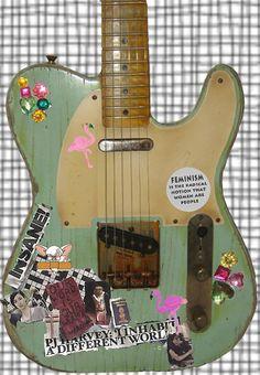 kat bjellands guitar