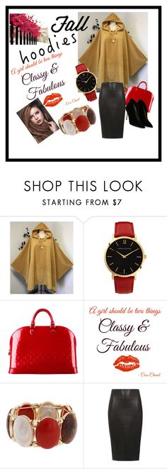 """""""HOODIES"""" by ashleyyjames ❤ liked on Polyvore featuring Larsson & Jennings, Louis Vuitton, Chanel, Erica Lyons, Dorothy Perkins and Gianvito Rossi"""