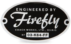 ThinkGeek :: Engineered by Firefly Vehicle Decal.  I think my car needs one.
