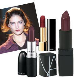 Brides: Beauty Tip: Glossy Plum Lips