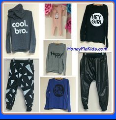 New Joah Love has arrived to Honeypiekids.com  Save 15% off with coupon code Honey15. #joahlove #trendykids #childrensboutique