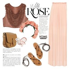 """""""Wild rose"""" by purpleagony on Polyvore featuring Wild Rose, K. Jacques, Andrea, maxiskirt and boho"""