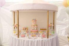 Pastel Carousel Birthday Party via Kara's Party Ideas | KarasPartyIdeas.com (7)