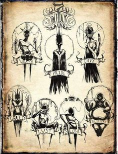 The Seven Deadly Sins by Shawncoss - 9GAG