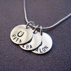 Another Etsy find. I want to get this to remember all my horsey friends, past and present.