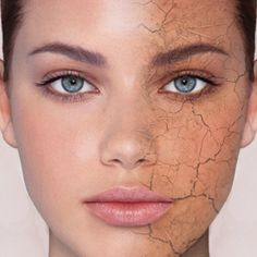 If you have dry skin you'll feel your face tight and may be find some red or flaky patches after washing it.