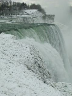 The American Falls on New Years Day 2014