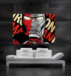 Hey, I found this really awesome Etsy listing at https://www.etsy.com/listing/150862834/ironman-superhero-comics-poster-print