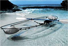 Transparent canoe!