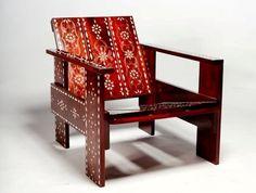 La Gerrit Rietveld revisité par des artisans marocains.