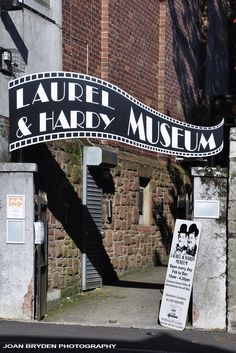 Laurel and Hardy Museum, Ulverston, Cumbria, England.  Ulverston was the birthplace of Stan Laurel.