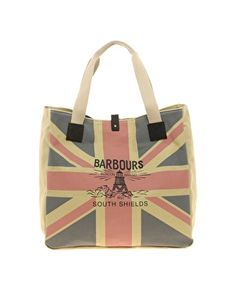 """prissyrecrui: """" Barbour Sand Union Jack Printed Shopper More photos & another fashion brands: """" Barbour Bags, Union Jack, Girls Dream, Shopping Bag, Online Shopping, Gym Bag, Coin Purse, Reusable Tote Bags, Purses"""