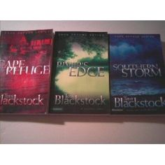 "4 Titles in The ""Cape Refuge Series"" By TERRI BLACKSTOCK: Books 1-4, Cape Refuge,Southern Storm,River's Edge,Breaker's Reef (not shown).  Small town mysteries with good christian lessons.  I enjoyed them all."