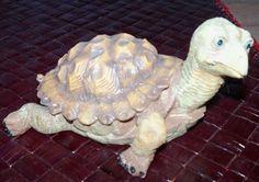 Turtle Figurine Reptile Magic Creations Figure