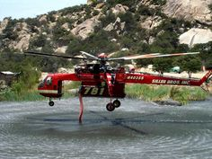 """Latający dźwig"" - CH-54 Tarhe / S-64 SkyCrane - Technowinki Erickson Air Crane, Tango, Aircraft Maintenance, Fire Equipment, Emergency Vehicles, Fire Trucks, Law Enforcement, Firefighter, Swimming Pools"