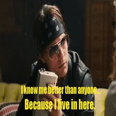 Tom Cruise as stacee jaxx in Rock of Ages...one of my favorite lines in the movie