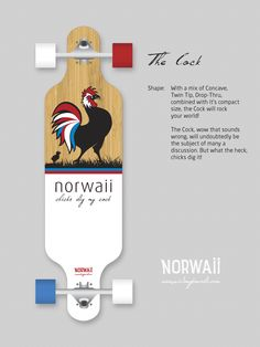 Norwaii Longboards - The Cock