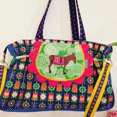 Eine #Folklore  #Tasche aus einem meiner Lieblingsstoffe #florabella #fummelhummel #stoffn #mamalea