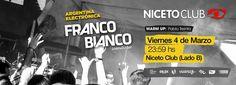FRANCO BIANCO! Friday, 04 March 2016 - Argentina