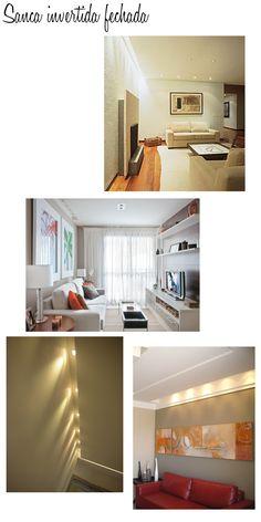 By: Mayara Camargo    O post de hoje é a pedido da leitora Rachel Macena que está começando a decorar seu apartamento e pediu dicas de teto...