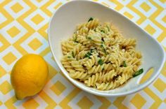 Light and Refreshing No-Cook Lemon Pasta Sauce.