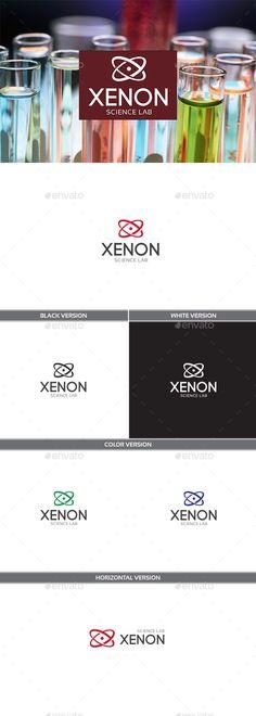 Xenon Logo Design Template Vector #logotype Download it here: http://graphicriver.net/item/xenon/11723241?s_rank=748?ref=nesto