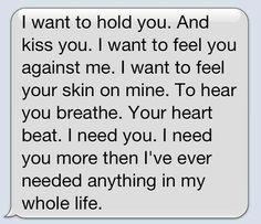 Cute couple texts